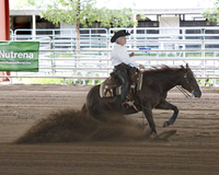 Ima Magnum 45- 2008 AQHA Sorrel mare by $4 million sire MAGNUM CHIC DREAM and a daughter of Boomernic