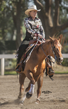 Confidence Builder...Honest, Easy to Ride Reining Mare.